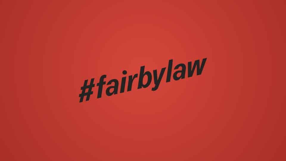 Tragt Verantwortung #fairbylaw